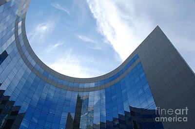 Block Photograph - Skyscraper by Michal Bednarek