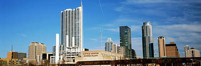 Skyscrapers In A City, Austin, Texas Print by Panoramic Images