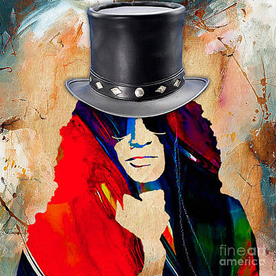 Slash Mixed Media - Slash Collection by Marvin Blaine