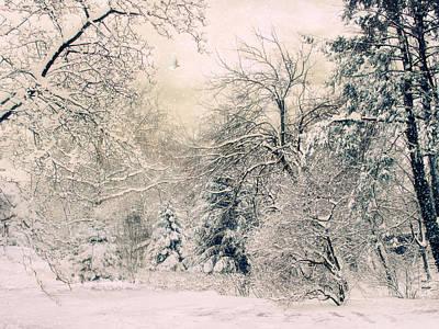 January Digital Art - Snow White by Jessica Jenney