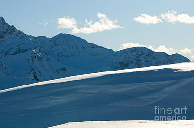 Winter Photograph - Snowy Winter Mountains by Michal Bednarek