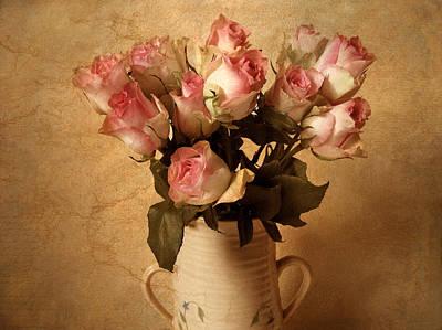 Floral Digital Art - Soft Spoken by Jessica Jenney