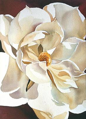 Southern Magnolia Print by Alfred Ng