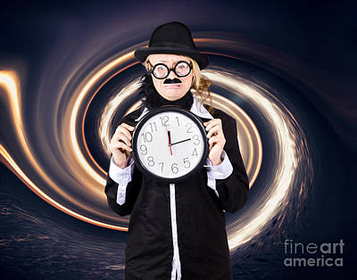 Space Astronomer Getting Sucked Into A Black Hole Print by Jorgo Photography - Wall Art Gallery