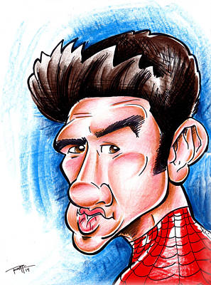 Drawing - Spidey by Big Mike Roate