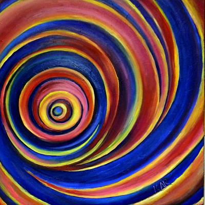 Spirals Print by Art by Kar