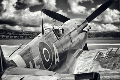 Spitfire Photograph - Spitfire by Ian Merton