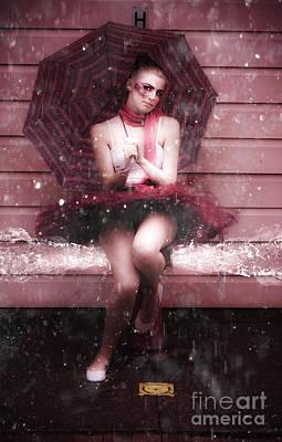 Doll Photograph - Splash Dancing by Jorgo Photography - Wall Art Gallery