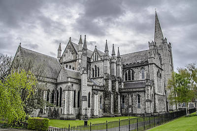 St. Patricks Cathedral Photograph - St Patricks Cathedral - Dublin Ireland by Bill Cannon