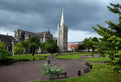 St. Patricks Cathedral Photograph - St Patricks Cathedral, Dublin, Ireland by Panoramic Images