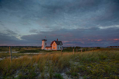 Lighthouse Photograph - Stage Harbor by Betty Wiley