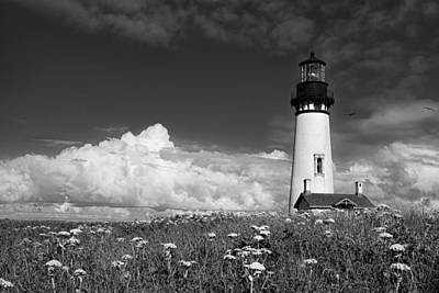 Yaquina Head Lighthouse Photograph - Standing Tall by Andrew Soundarajan