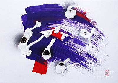 Greed Painting - Star Spangled Meltdown by Roberto Prusso