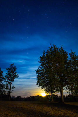 Van Goh Photograph - Starry Night by Shelby  Young