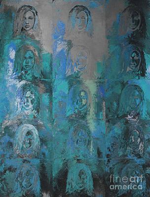 State Of Mind  Print by Moustafa Al-Hatter