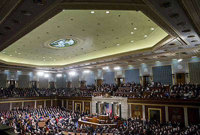Vice President Biden Photograph - State Of The Union by JP Tripp