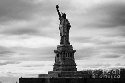 Statue Of Liberty National Monument Liberty Island New York City Print by Joe Fox