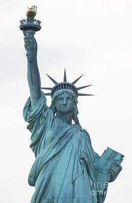 Liberte Photograph - Statue Of Liberty by David Oppenheimer