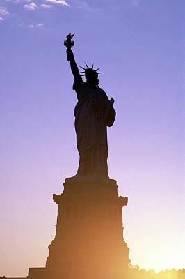 Statue Of Liberty Photograph - Statue Of Liberty by Tony Cordoza