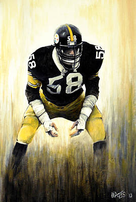 Steel Curtain Print by William Walts