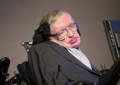 Director Photograph - Stephen Hawking by Mark Thomas