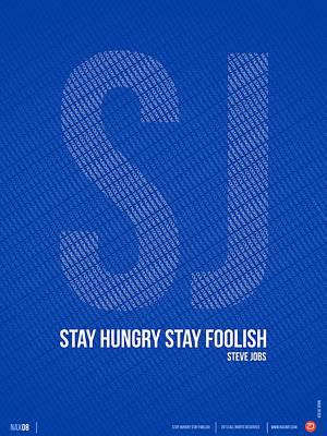 Schools Digital Art - Steve Jobs Quote Poster by Naxart Studio