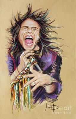 Steven Tyler Painting - Steven Tyler  by Melanie D