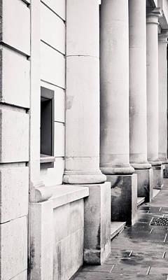 Stone Pillars Print by Tom Gowanlock