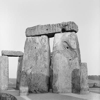 Megalith Photograph - Stonehenge by Anonymous