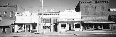 Store Fronts, Main Street, Small Town Print by Panoramic Images