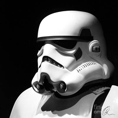 Stormtrooper Print by Chris Thomas