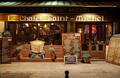 Paris Photograph - Street Scenes - Paris France - 011328 by DC Photographer