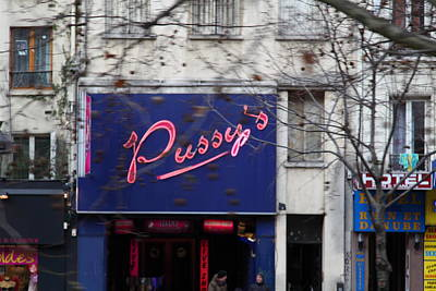 People Photograph - Street Scenes - Paris France - 011348 by DC Photographer