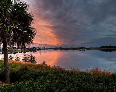 Photograph - Summer Sunset In Florida by John Pike