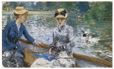 Summer's Day Print by Berthe Morisot