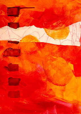 Repetition Painting - Sunrise by Nancy Merkle