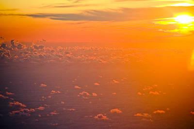 Sunset In The Sky Print by Raimond Klavins