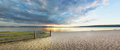 Sunset On South Bay, Lake Superior Print by Panoramic Images