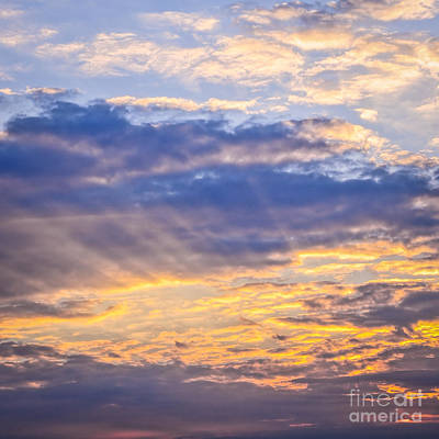 Sunset Sky Print by Elena Elisseeva