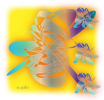 Sunshine Print by Iris Gelbart