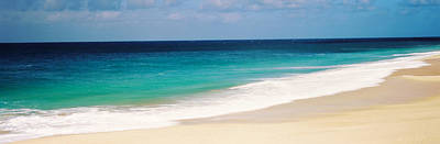 Surf On The Beach, Oahu, Hawaii, Usa Print by Panoramic Images