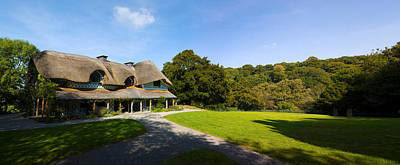 Swiss Cottage Cottage Ornee On A Hill Print by Panoramic Images