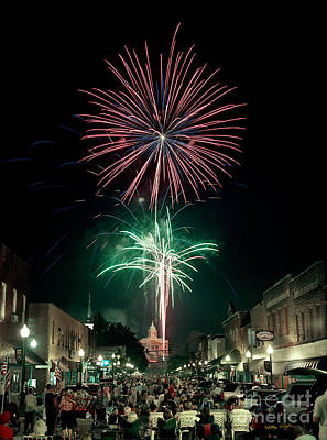 Sylva 4th Of July 2004 Print by Matthew Turlington