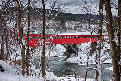 Taftsville Photograph - Taftsville Covered Bridge by Jeff Folger
