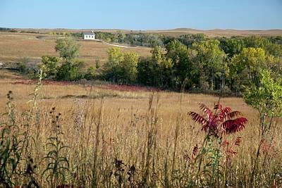 Strong America Photograph - Tallgrass Prairie by Jim West