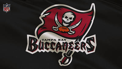 Tampa Bay Buccaneers Uniform Print by Joe Hamilton