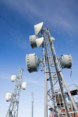 Telecommunication Equipment Print by Ashley Cooper
