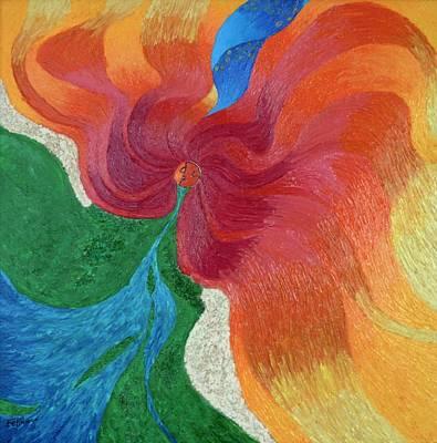 Symbolism Painting - Tellus Exitos by Felix Concepcion