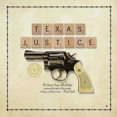 Texas Justice Print by Gary Grayson
