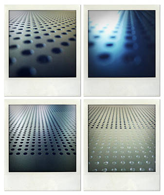 Perforated Photograph - Textures by Les Cunliffe